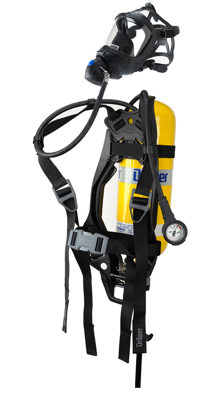 Draeger PAS Lite SCBA with 2,216psi 30 min cyl