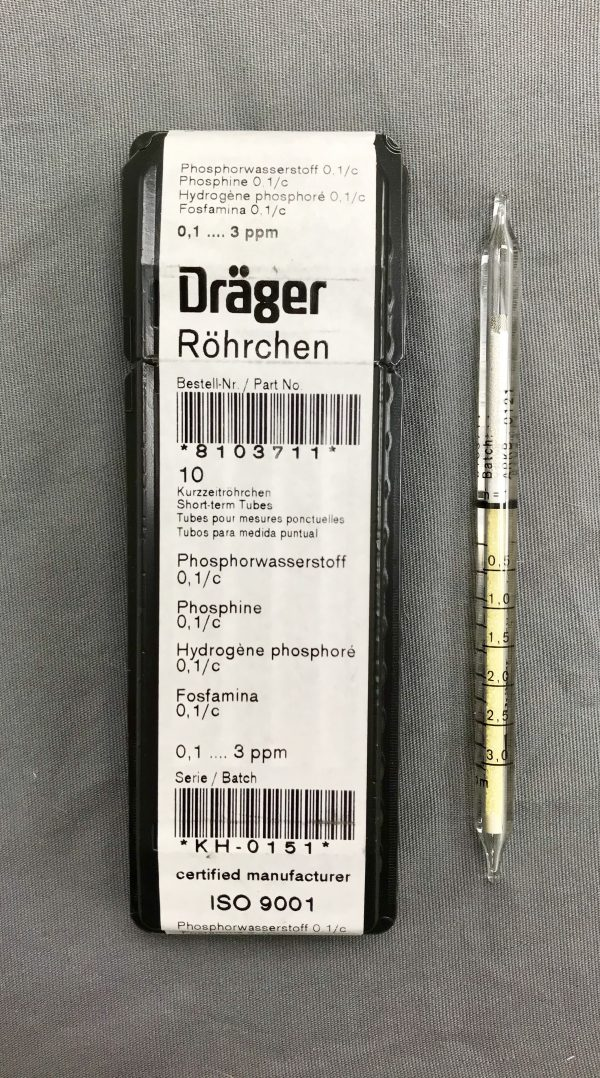 Draeger PH3 Low Range Tubes